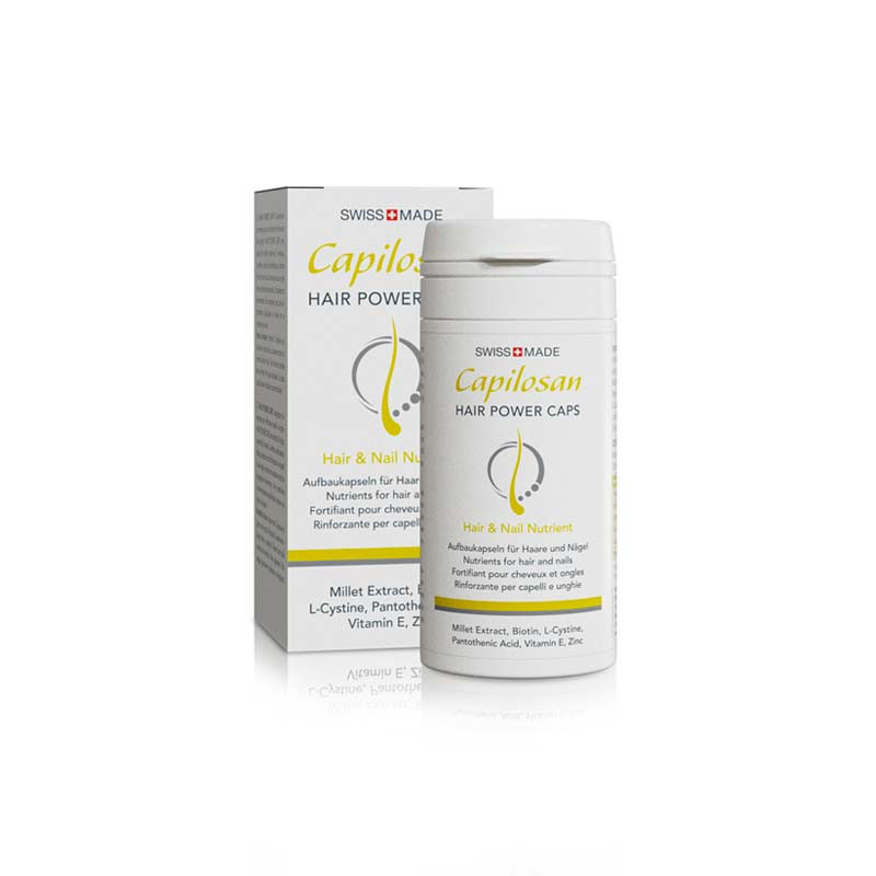 advanced swiss products capilosan hair power caps